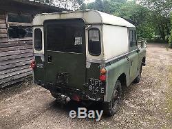 Land Rover Series 2a IIa 88 1967 2.25 Diesel UPP 814E Buckinghamshire Reg
