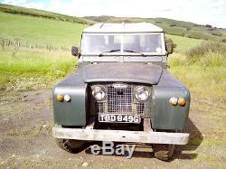 Land Rover Series 2a Lwb Diesel Tax Exempt 1969 Van Body