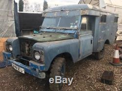 Land Rover Series 2a Marshall Ambulance Camper RAF