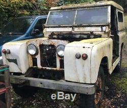 Land Rover Series 2a Rolling Chassis