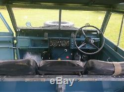 Land Rover Series 2a SWB 88 1969 Tax and MOT Exempt nearly New Paint Work