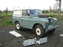 Land Rover Series 2a SWB 88 2.25L Diesel 1963