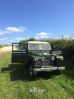 Land Rover Series 2a SWB Truck Cab 1962