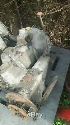 Land Rover Series 2a/series 3 Gearbox/transfercase