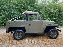 Land Rover Series 2a with lightweight body