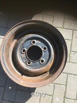Land Rover Series 2b Series 3 Forward Control Deep Dish Wheels New Old Stock