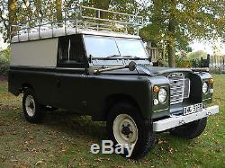 Land Rover Series 3 109 Hard Top 2.25 Diesel Expedition, Safari, Camping etc