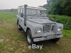 Land Rover Series 3 109 Station Wagon 1980