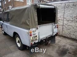 Land Rover Series 3 109 Tax and MOT Exempt