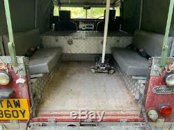Land Rover Series 3 109 V8 Stage One galvanised massive spec