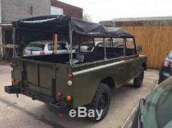 Land Rover Series 3 109 ffr Ex-military new respray hood x paras 50 tho miles