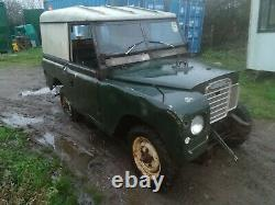 Land Rover Series 3 1972 SWB 2.25 Petrol Project
