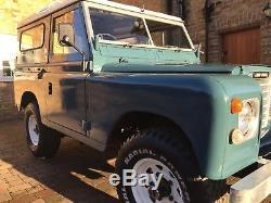 Land Rover Series 3 1972 SWB 88 Petrol 2.25L 12 Months MOT Tax Exempt Part Resto