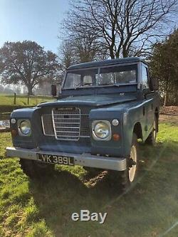 Land Rover Series 3 1974 88 pickup