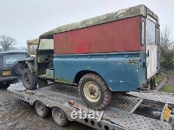 Land Rover Series 3 1975 LWB Diesel PROJECT