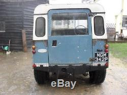 Land Rover Series 3 1976 Resto Project Mot/tax Exempt New Rear Chassis Barn Find