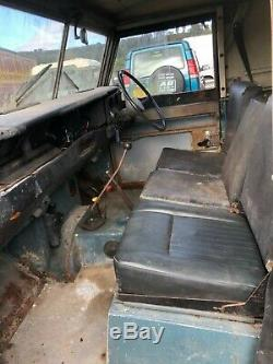 Land Rover Series 3 2.25 diesel on galvanised chassis. Only 12573 genuine miles