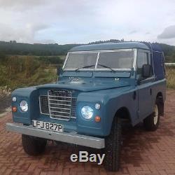 Land Rover Series 3 300TDI TAX FREE 1975 Full nut & bolt Galvanised restoration
