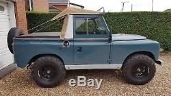 Land Rover Series 3 88 1982 Galv Chassis LPG