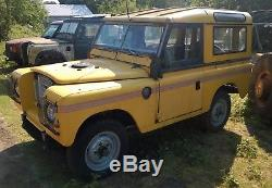 Land Rover Series 3 88 Petrol 1981 Ex AA Patrol with V5 I can deliver