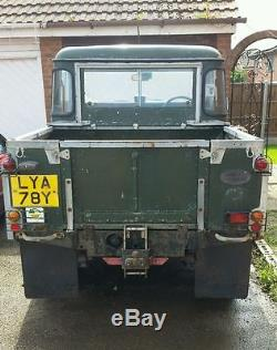 land rover series 3 88 pick up restoration project great vehicle. Black Bedroom Furniture Sets. Home Design Ideas