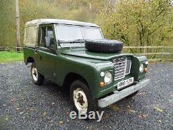 Land Rover Series 3 88 SWB 1981 2.25 Petrol