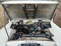 Land Rover Series 3 88 Soft Top 1974 Tax & MOT exempt