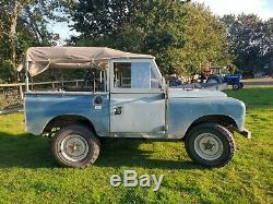 Land Rover Series 3 Diesel Galvanised Chassis