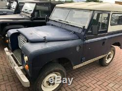 Land Rover Series 3. Diesel. Galvanised Chassis & Galvanised bulkhead