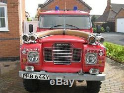 Land Rover Series 3 Fire engine