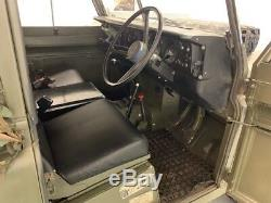 Land Rover Series 3 Genuine Military FFR (Show Vehicle)