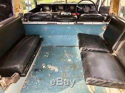 Land Rover Series 3 III 88 1981 SWB 2.25 Petrol Marine Blue New MOT 96k miles