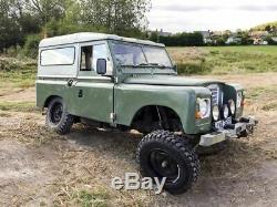 Land Rover Series 3 III 88 swb 200Tdi with Power Steering