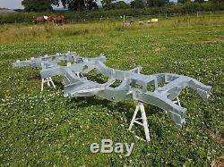 Land Rover Series 3 III SWB 88 Brand New Galvanized Chassis