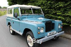 Land Rover Series 3 Iii 88 200 Tdi Blue/Cream 11K MILES GALV CHASSIS MOT'd