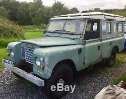 Land Rover Series 3 LWB Station Wagon
