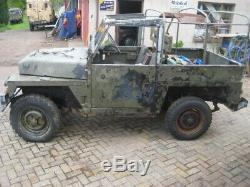 Land Rover Series 3 Light Weight. Restoration Project