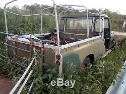 Land Rover Series 3 Long Wheel Base Restoration Project Or For Parts Working