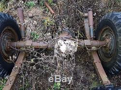 Land Rover Series 3 Rear Military Salisbury Axle only
