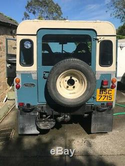 Land Rover Series 3 SWB/88 1977 2.25 DIESEL, Overdrive, TAX and MOT EXEMPT