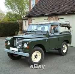Land Rover Series 3 SWB 88 2.25 Petrol with Overdrive Includes Hardtop