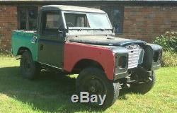 Land Rover Series 3 SWB petrol Unfinished project
