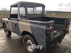 Land Rover Series 3 Swb Petrol, Spares Repair