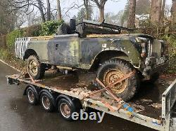 Land Rover Series 3 military