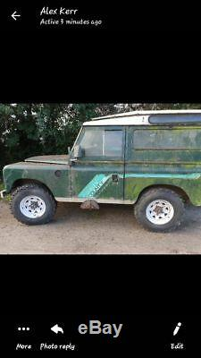 Land Rover Series 3 tax exempt project