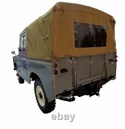 Land Rover Series 88 Canvas Tops (hood) With Rear Window