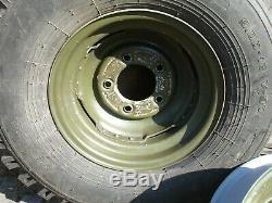 Land Rover Series Deep Dish Wheels x 5 Ref 569204 / 1 Ton