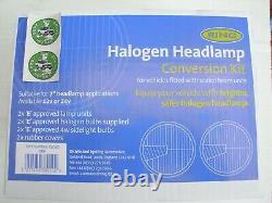 Land Rover Series Headlight Conversion Kit Halogen New Halogen Lights
