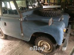Land Rover Series IIA, SWB Petrol 1964