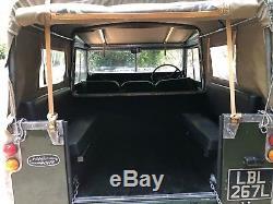 Land Rover Series III (3) 1973 88 Canvas Hood